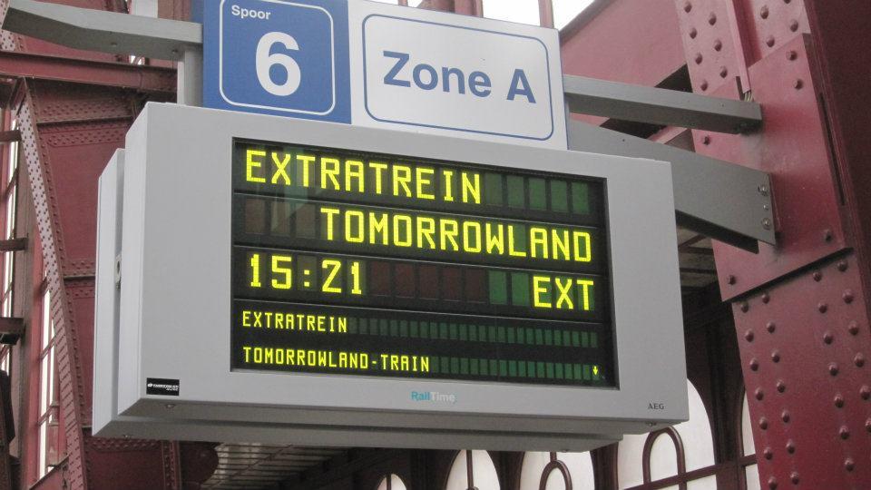 Tomorrowland Train Antwerp