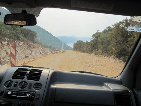 Cruising the dirt roads between Croatia and Montengro Solo Travel Montenegro