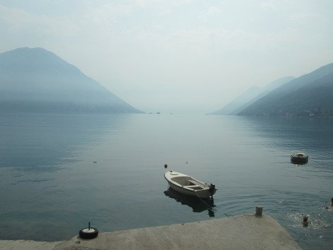 Bay of Kotor - totally idyllic  Solo Travel Montenegro