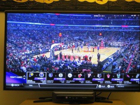 Fullscreen view with in-game menu