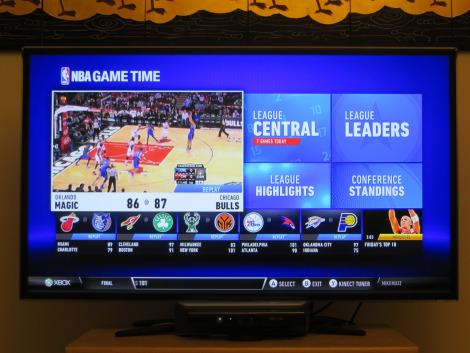NBA Game Time on Xbox Live