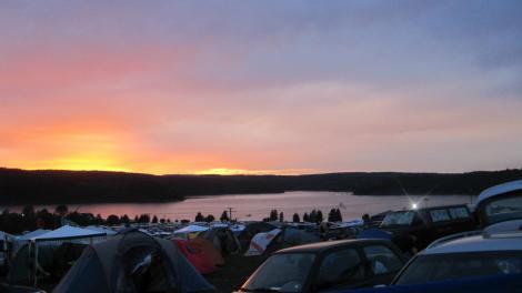 Sunrise at SonneMondSterne