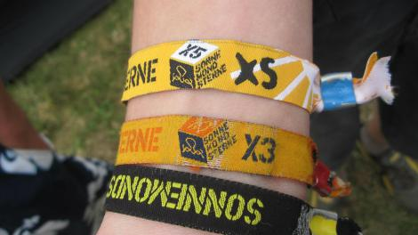 You can tell people love this festival by the fact they haven't removed their wristbands in over two years.
