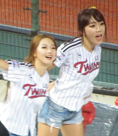 LG Twins Cheerleaders