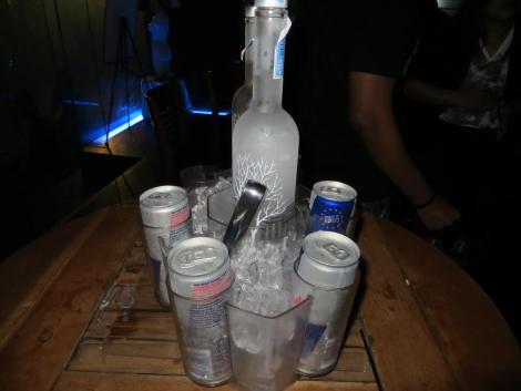 Vodka Redbull, Self Pour, In Club, Singapore