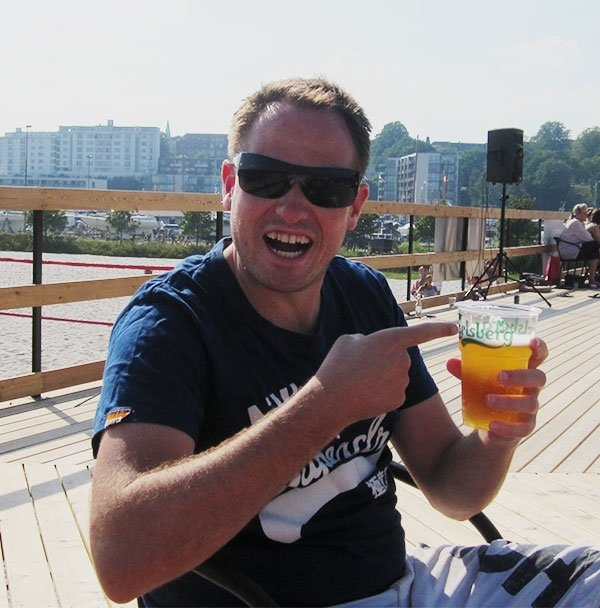 Danish Beer in Denmark gets me excited.