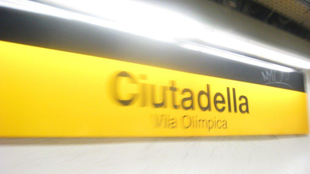 Many of Barcelona's pick pocket crimes happen on the Metro