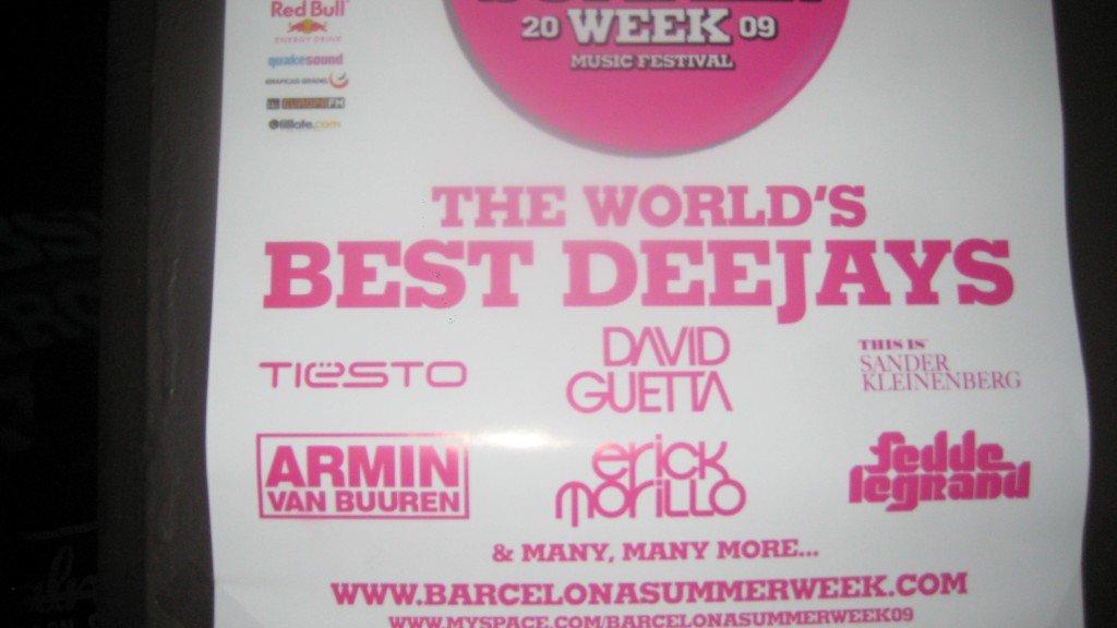 The impressive line up for Barcelona Summer Week