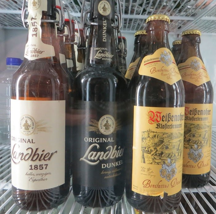Some of Oma's imported German Beers