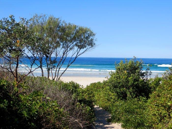 Arakwal National Park Beach - Australian East Coast Road Trip