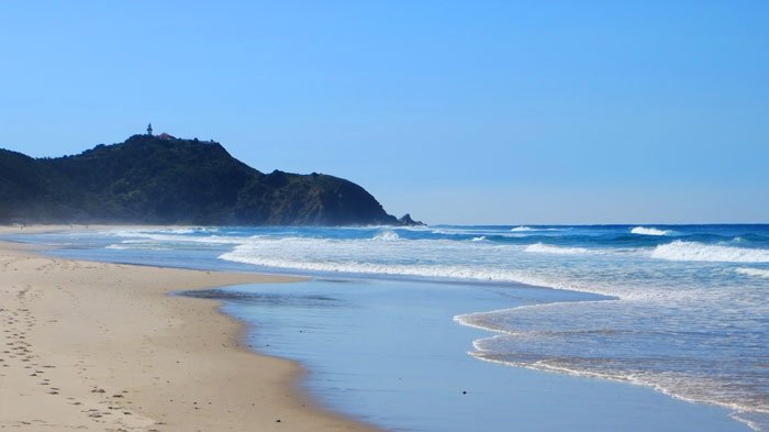 Arakwal National Park, Tallow Beach, Cape Byron, Australian East Coast Road Trip