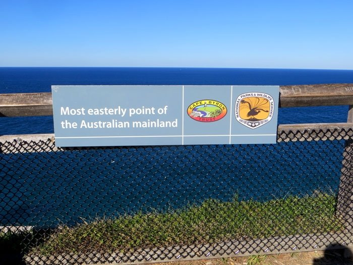Australia's most easterly point. Cape Byron Walk. Australian East Coast Road Trip