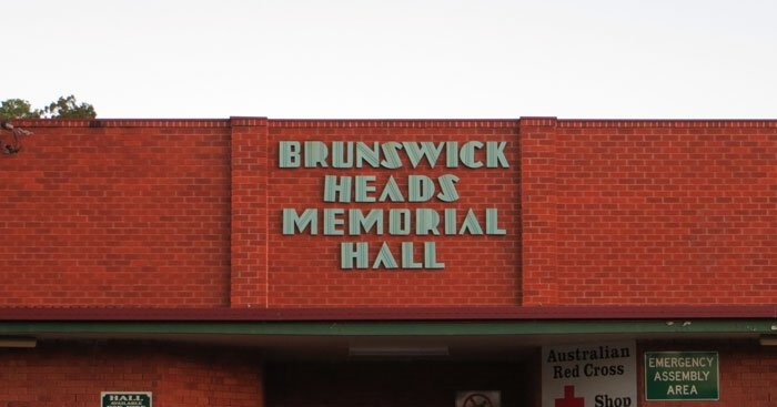 Brunswick Heads Memorial Hall - Australian East Coast Road Trip