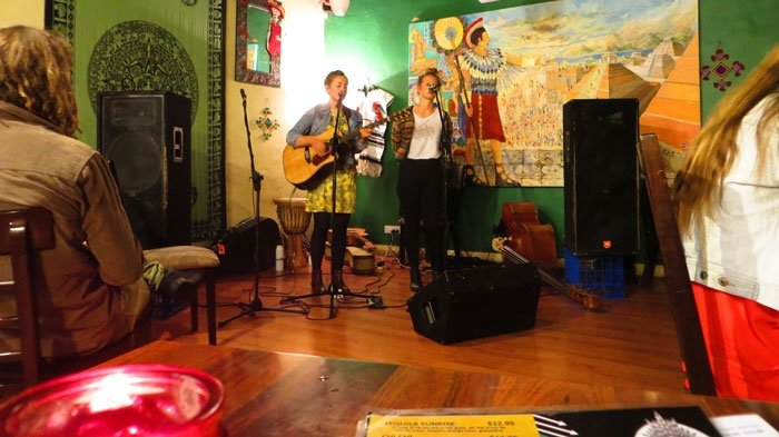 Band in Forster Mexican Restaurant.