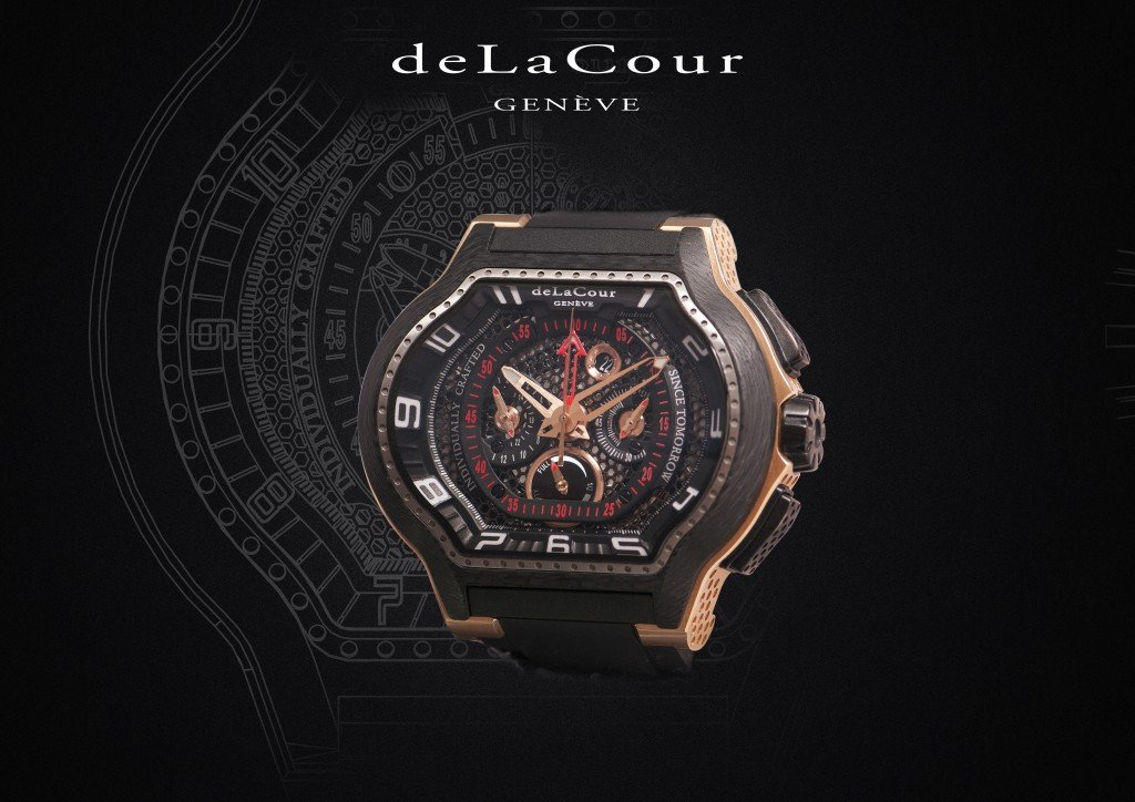 deLaCour - Presenting Sponsor of The Podium Lounge Singapore 2014.