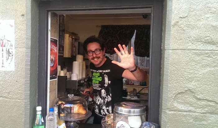 Eric and Nookie, Sydney's smallest cafe