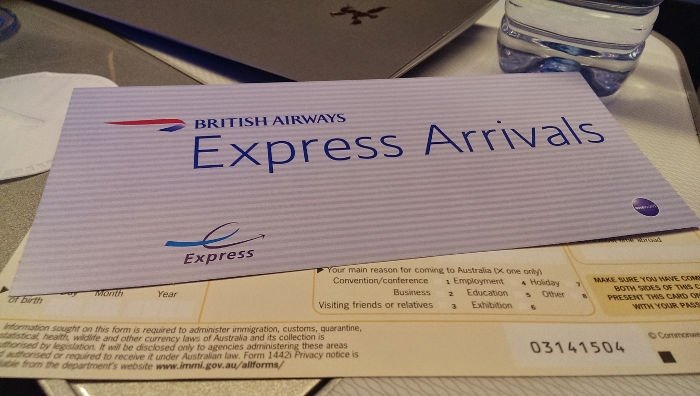 ePass British Airways First Class