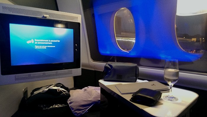 Seat view - British Airways First Class Reviews
