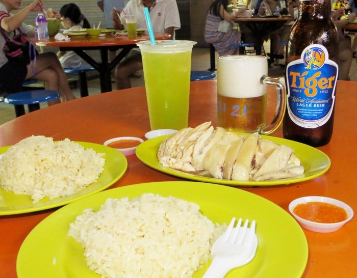 Singapore Chicken Rice - Moving to Singapore