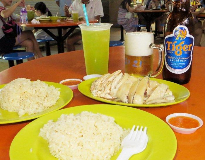 Singapore Chicken Rice - Moving to Singapore