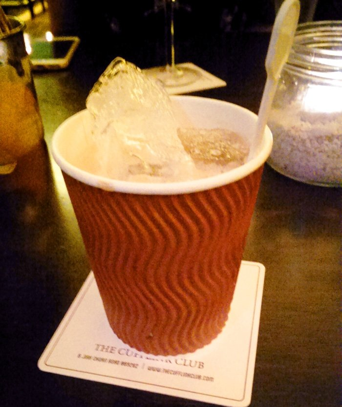 Vanilla Coffee Martini from The Cufflink Club. Moving to Singapore