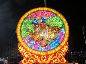 Circle Lantern River Hongbao