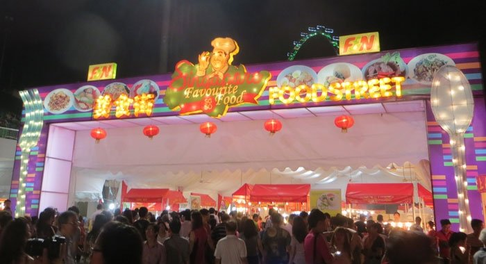 Food Street at the River Hongbao Singapore