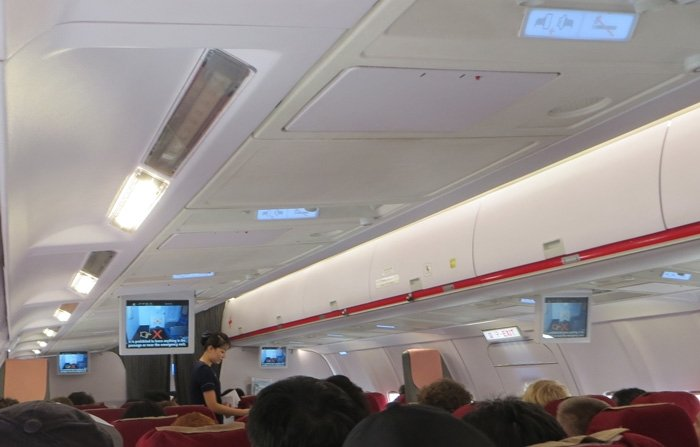 Air Koryo Interior