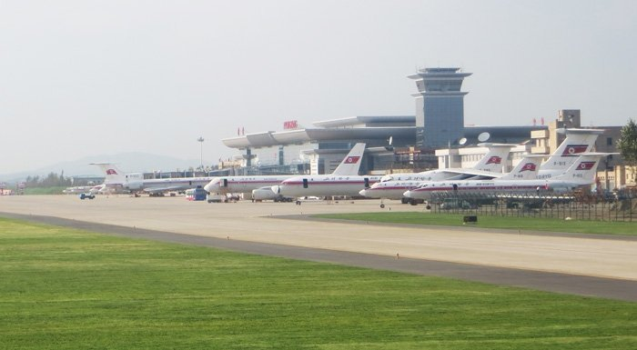 Air Koryo Fleet Pyongyang Airport North Korean Airlines