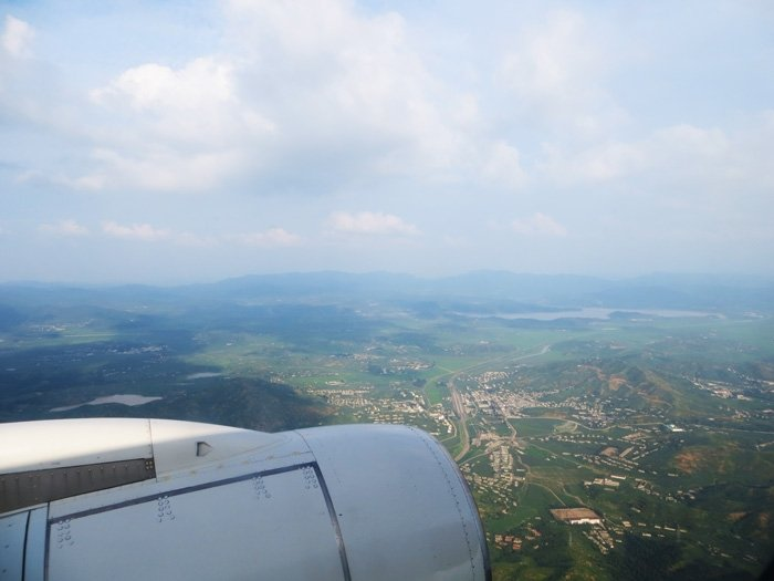 The first good view we got of North Korea. This is approx 50km north west of Pyongyang.