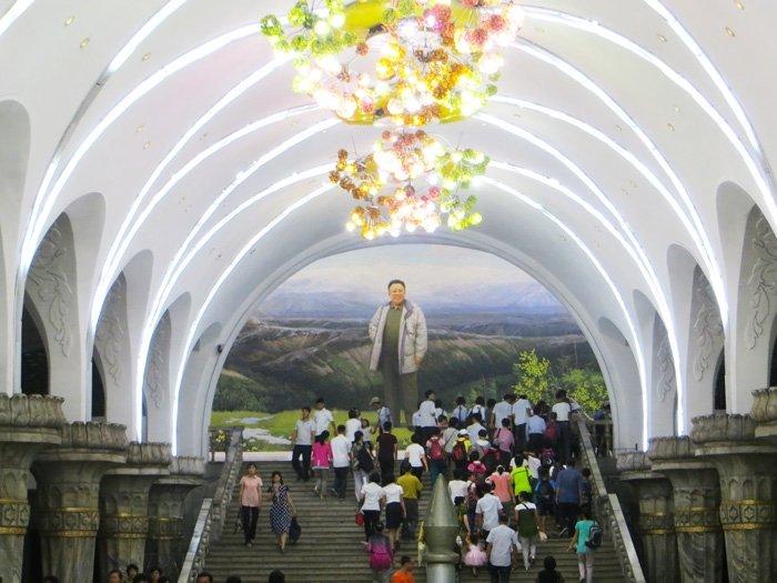 Kim Jong Il Pyongyang Subway