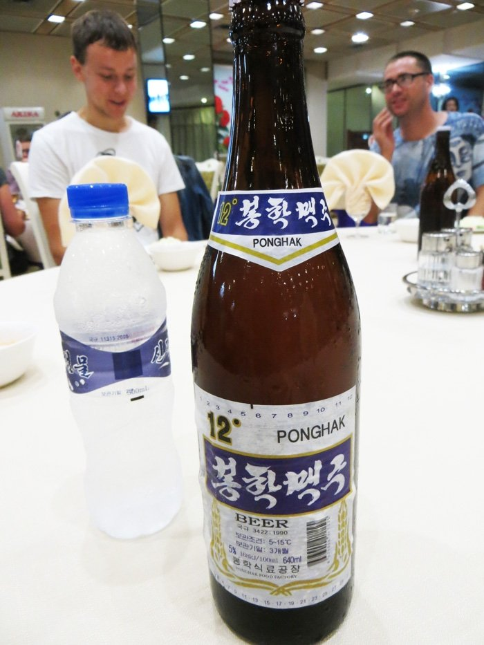 Ponghak Beer North Korea