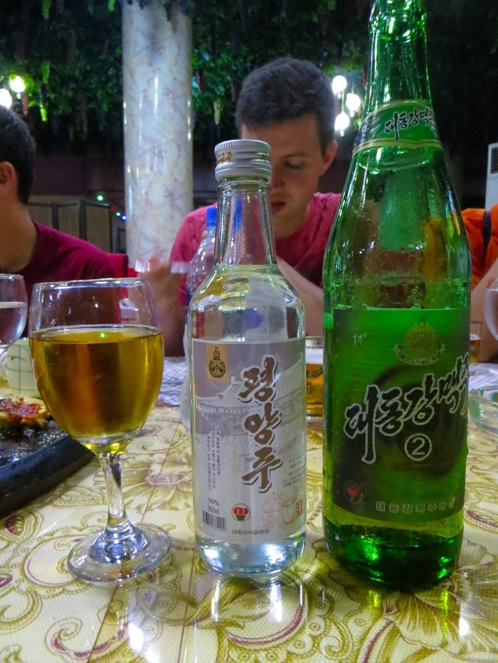 Taedonggang Beer and Soju