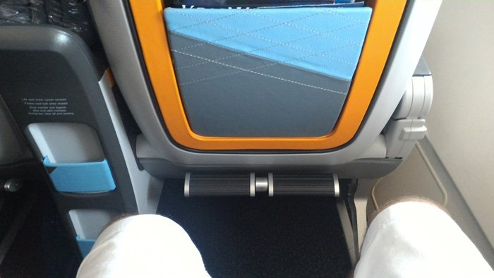 Singapore Airlines Premium Economy Legroom