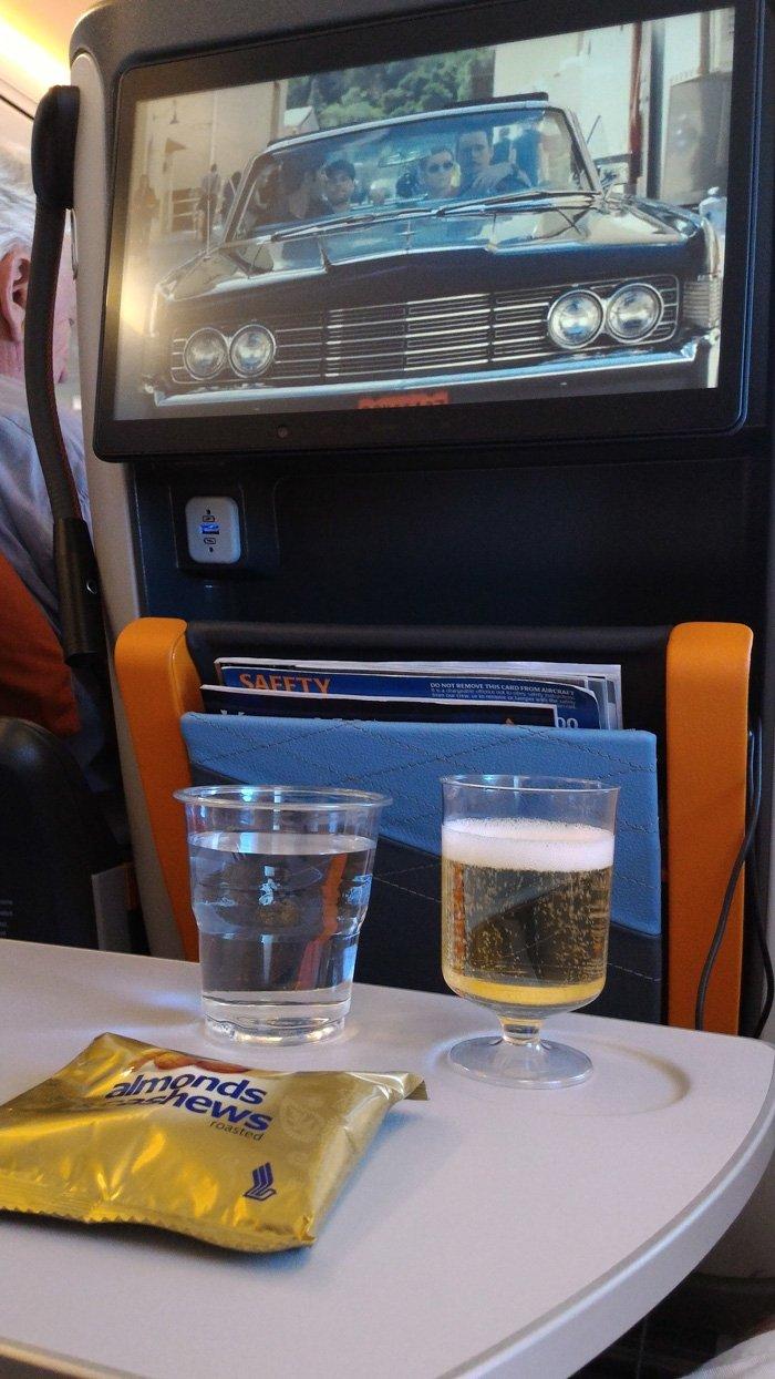 Singapore Airways Premium Economy Entertainment