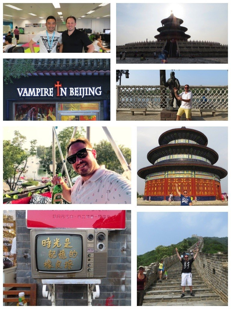 Temple of heaven, Gulong hutons and Skyscanner office