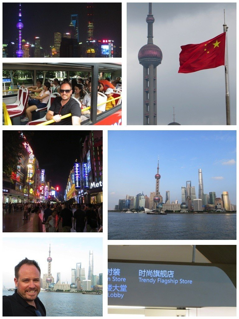 Glass, steel and scammers in Shanghai