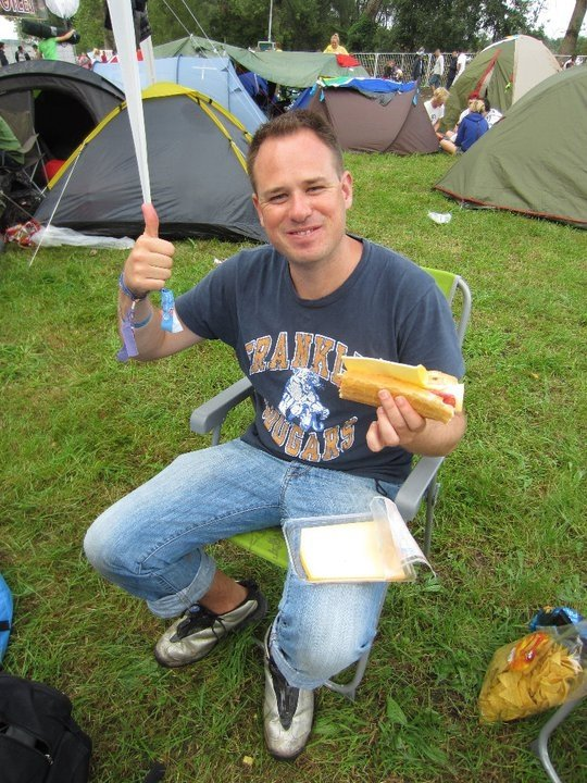 """Unrecognisable"" Me at the Tomorrowland campsite 2011"